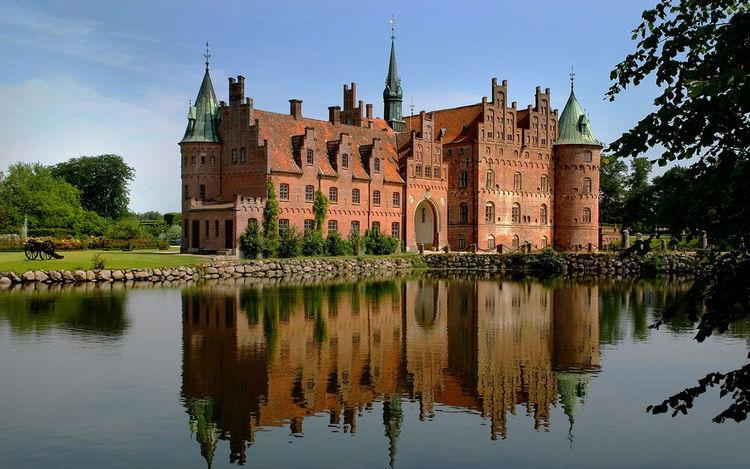 Castle Copenhagen Denmark Funen Denmark The Castle is